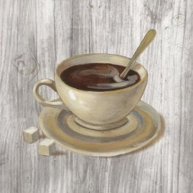 Silvia Vassileva - Coffee Time VI on Wood