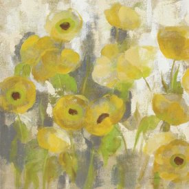Silvia Vassileva - Floating Yellow Flowers IV