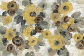 Silvia Vassileva - Neutral Floral Beige I Yellow Flowers