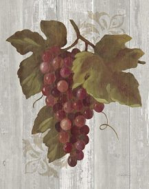 Silvia Vassileva - Autumn Grapes III on Wood