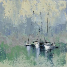Silvia Vassileva - Boats in the Harbor II