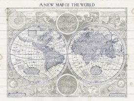Sue Schlabach - A New Map of the World