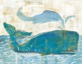 Sue Schlabach - On the Waves I Whale Spray