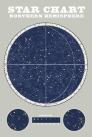 Sue Schlabach - Northern Star Chart Blue Gray