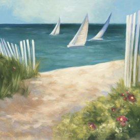 Julia Purinton - Regatta II Square