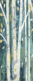 Julia Purinton - Birches in Spring Panel I