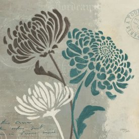 Wellington Studio - Chrysanthemums II