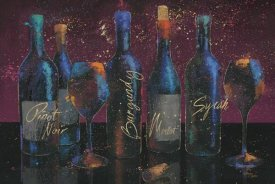 Wellington Studio - Wine Splash Dark I
