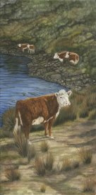 Jacquie Vaux - Cattle by the River