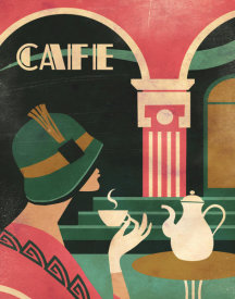 Martin Wickstrom - Art Deco Cafe