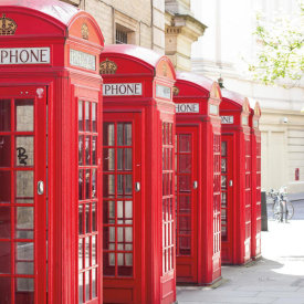 Keri Bevan - Covent Garden Phone Boxes