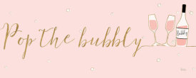 Veronique Charron - Underlined Bubbly III Pink