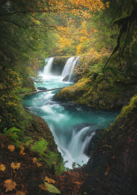 Steve Schwindt - Autumn At Spirit Falls