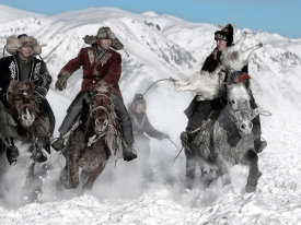 Bj Yang - Winter Horse Race