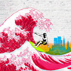 Masterfunk Collective - Surfin' NYC (detail)