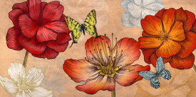 Eve C. Grant - Flowers and Butterflies (Neutral)