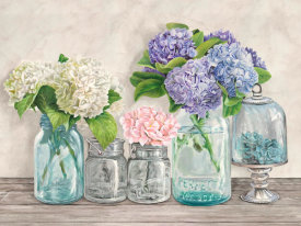 Jenny Thomlinson - Flowers in Mason Jars (detail)