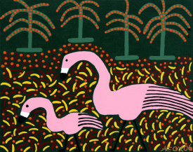 Ulrick Fox - Flamingos