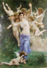 William-Adolphe Bouguereau - The Wasp's Nest, 1892