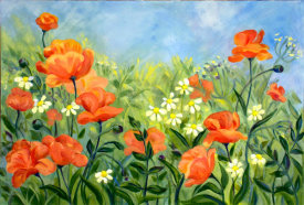 Tummy Rubb Studio - Glorious Poppies