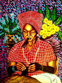 Victor Jose - Cuban Lady Sowing