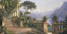 Carl Frederic Aagard - Lodge on Lake Como