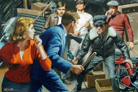 Mort Kunstler - The French Doll
