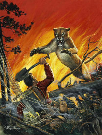 Mort Kunstler - In a Hot Spot
