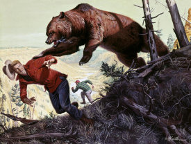 Mort Kunstler - The Bear that Killed Ken Scott