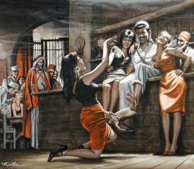 Mort Kunstler - The Scorpion Sting
