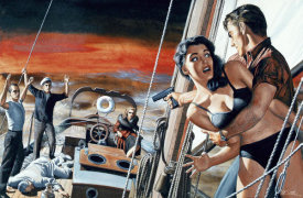 Mort Kunstler - I'm Taking Over the Boat