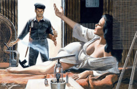 Mort Kunstler - Come On In