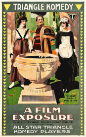 Hollywood Photo Archive - A Film Exposure,  1917