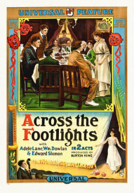 Hollywood Photo Archive - Across The Footlights,  1914