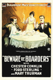 Hollywood Photo Archive - Beware of Boarders