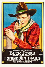 Hollywood Photo Archive - Buck Jones, Forbiden Trails,  1920