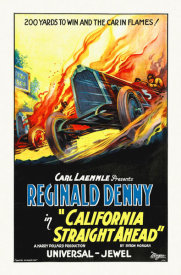 Hollywood Photo Archive - California Straight Ahead,  1925
