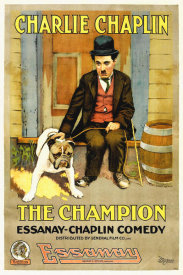 Hollywood Photo Archive - Charlie Chaplin, Champion, The,  1919 Esanney