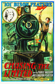 Hollywood Photo Archive - Chasing the Limited, 1915