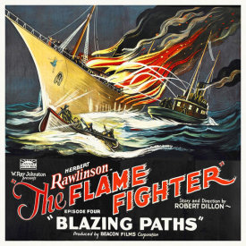 Hollywood Photo Archive - Flame Fighter, Blazing Paths, Herbert Rawlinson, 1925