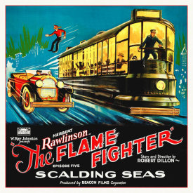 Hollywood Photo Archive - Flame Fighter, 6 sheet, 1925