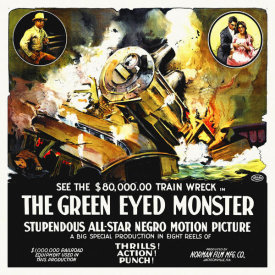 Hollywood Photo Archive - The Green Eyed Monster,  1919, 6 sheet