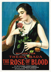 Hollywood Photo Archive - Theda Bara, The Rose of Blood,  1917