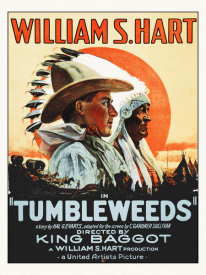 Hollywood Photo Archive - Tumbleweeds - William S Hart,  1925