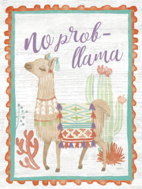 Mary Urban - Lovely Llamas IV No Probllama