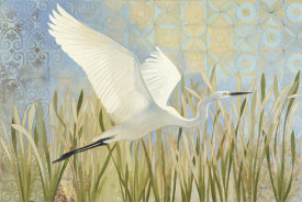 Kathrine Lovell - Snowy Egret in Flight v2