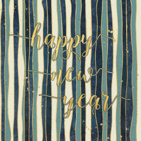 Jess Aiken - Coastal Lace Happy New Year Stripes