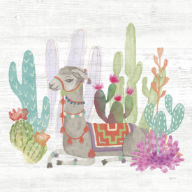 Mary Urban - Lovely Llamas I
