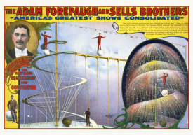 Hollywood Photo Archive - The Adam Forepaugh And Sells Achille Philion
