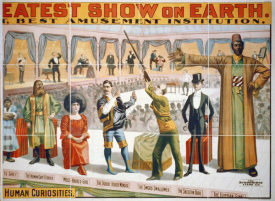 Hollywood Photo Archive - The Barnum & Bailey Greatest Show On Earth - The Peerless Prodigies Of Physical Phenomena & Marvelous Living Human Curiosities 2 - 1899
